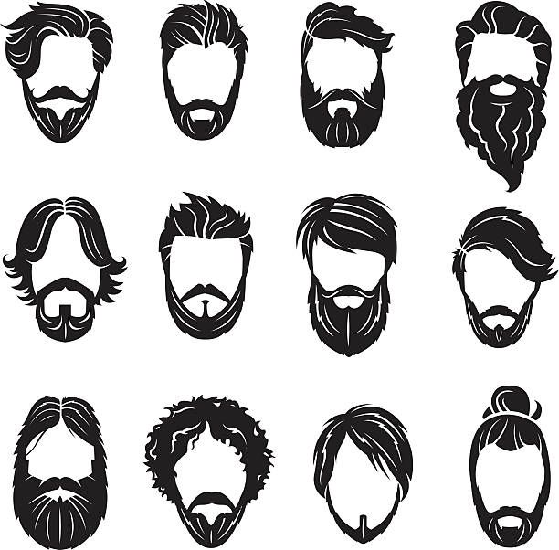 png transparent stock Image result for printable. Beard clipart illustration