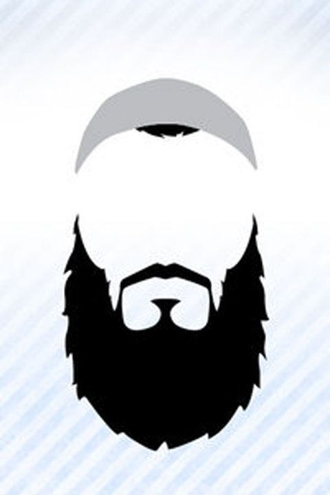 jpg black and white library Beard clipart islamic. The my style muslim