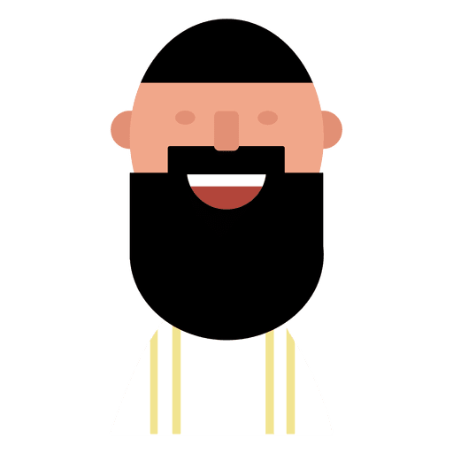 vector royalty free stock Beard clipart isolated. Hipster beards pattern vector