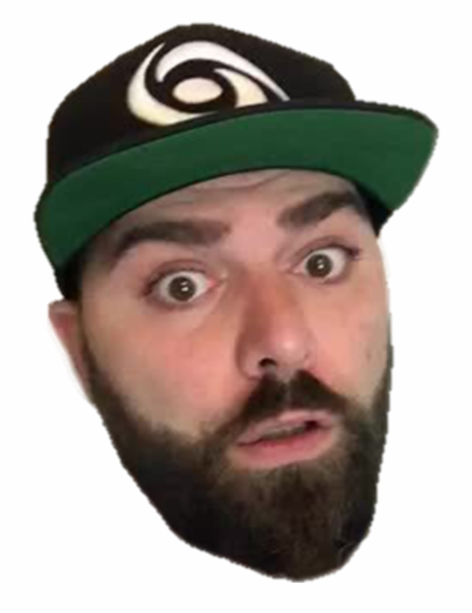 picture transparent stock Beard clipart keemstar. Png leafyishere vs free