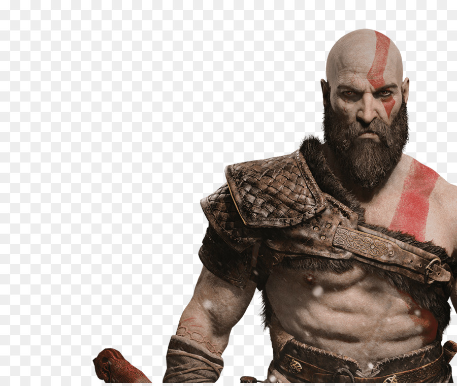 transparent stock Beard clipart kratos. Hair cartoon muscle transparent.