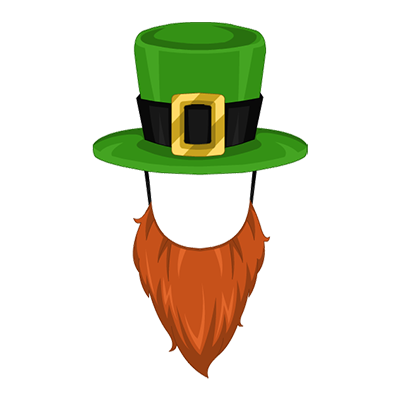 graphic free library Saint patrick s day. Beard clipart leprechaun