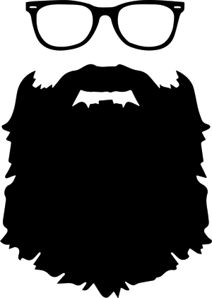 clip freeuse library Beard clipart logo. Contact ryan villasanti photography.