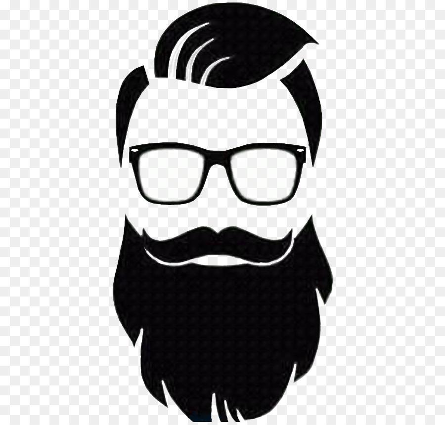 clip art free Moustache barber transparent . Beard clipart logo