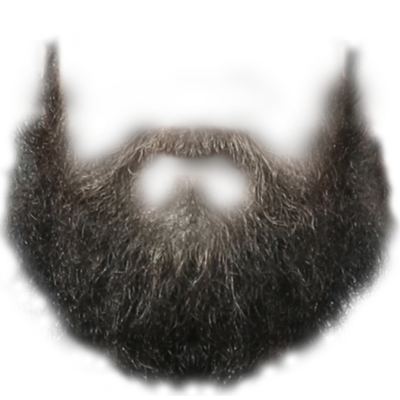 svg royalty free library Beard clipart long. Transparent background png photos