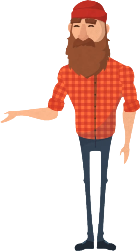 clip art library About us we want. Beard clipart lumberjack