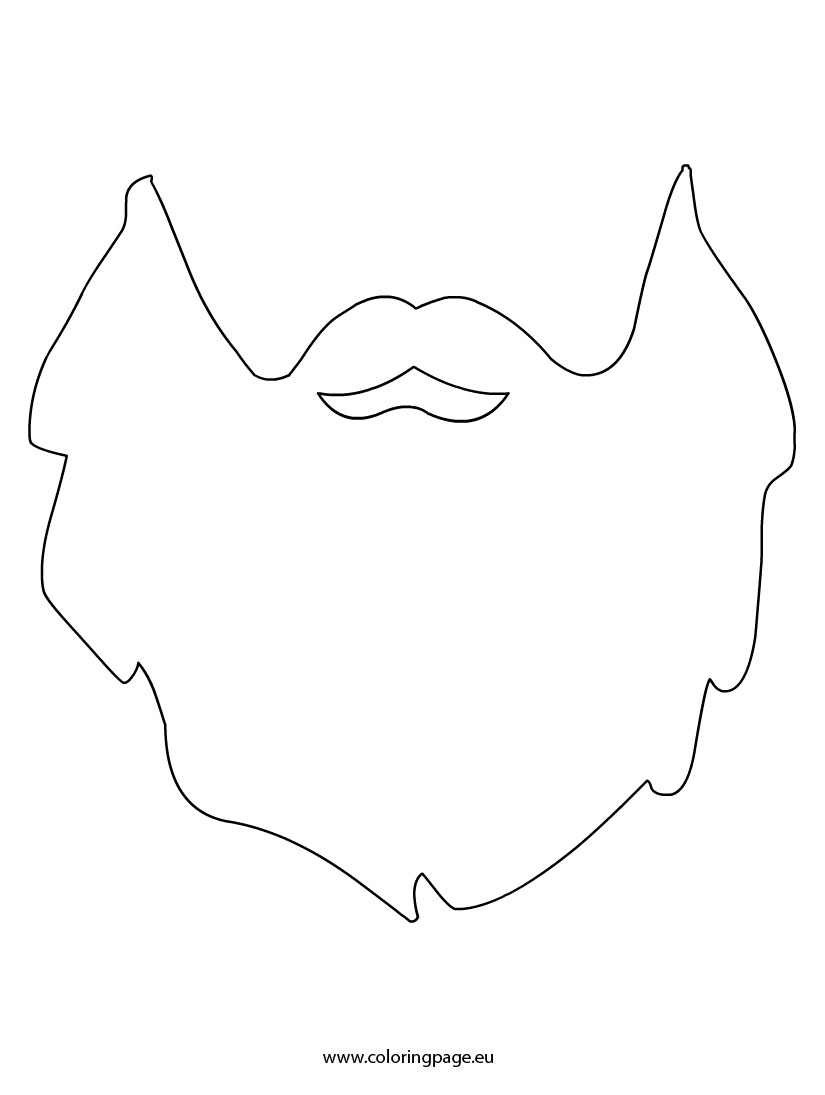 clip library library Beard clipart mask. Transparent free for download
