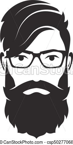png royalty free library X free clip art. Beard clipart mens