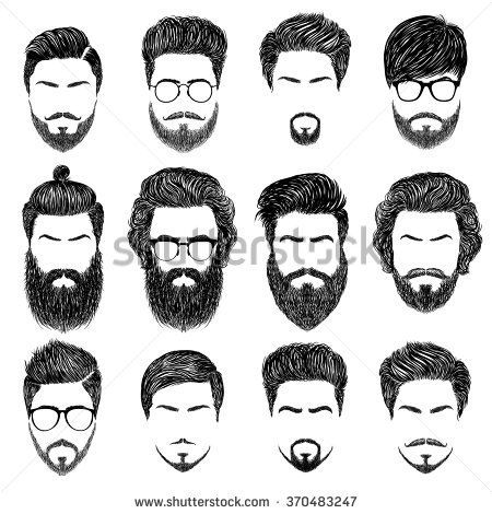 png transparent stock Beard clipart mens hairstyle. Pin on
