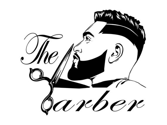 banner royalty free library Beard clipart mens hairstyle. Men barber grooming fashion.