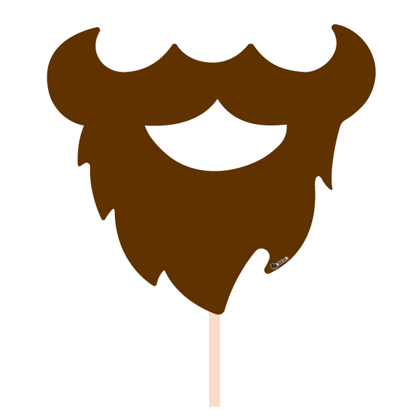 image free library Beard clipart mouth. Party photobooth props figure.