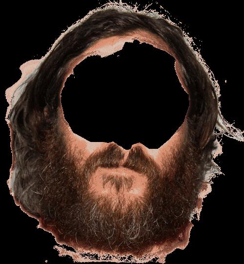 graphic transparent stock Hippie transparent png stickpng. Beard clipart neck.