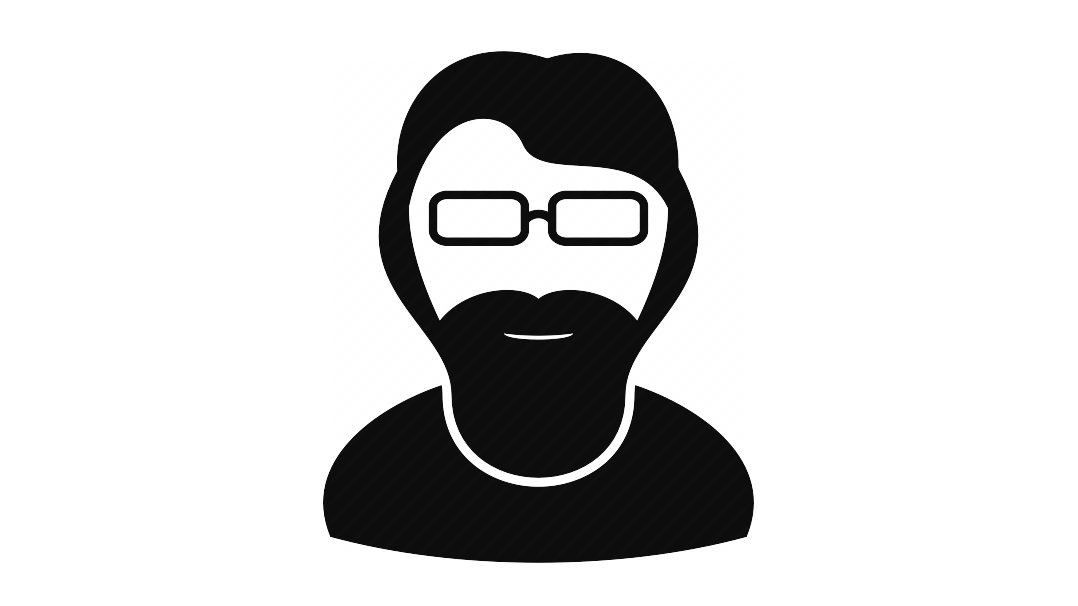 vector black and white Beard clipart neck. Free download clip art