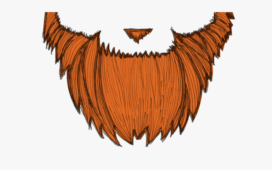 image freeuse library Beard clipart orange. Free library red clip.