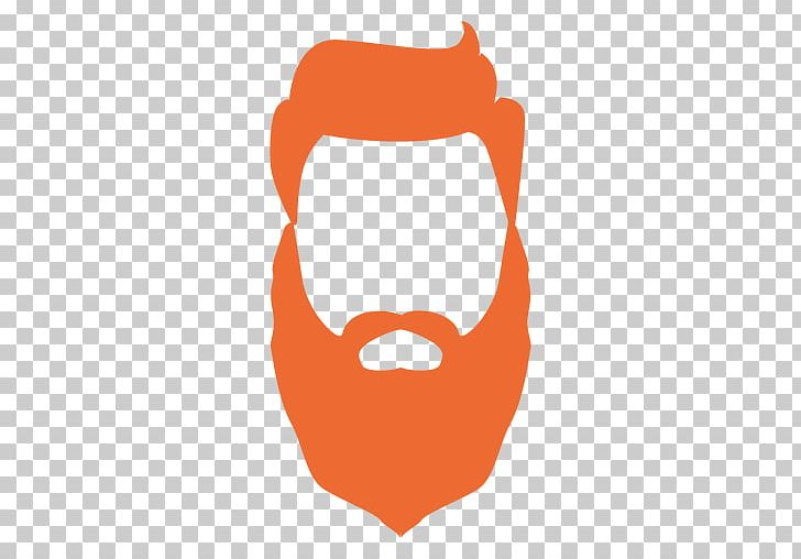 vector royalty free Logo png clip art. Beard clipart orange.