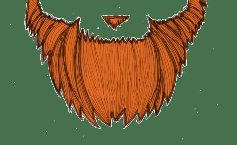 free library Beard clipart orange. Goatee clip art beauty.