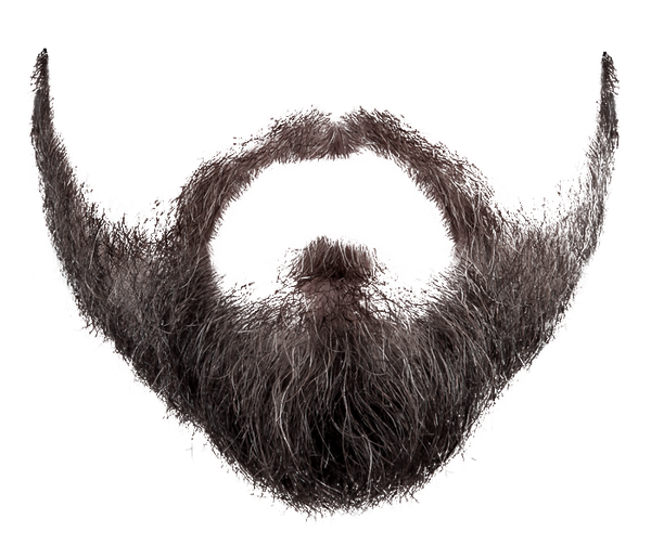 graphic black and white download Beard Six