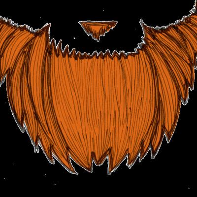 free download Beard clipart outline. Orange frames illustrations hd