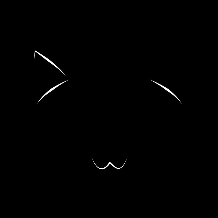 clip free library Cat face svg kitten. Beard clipart outline