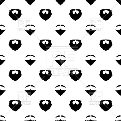 clipart black and white stock X free clip art. Beard clipart paper.