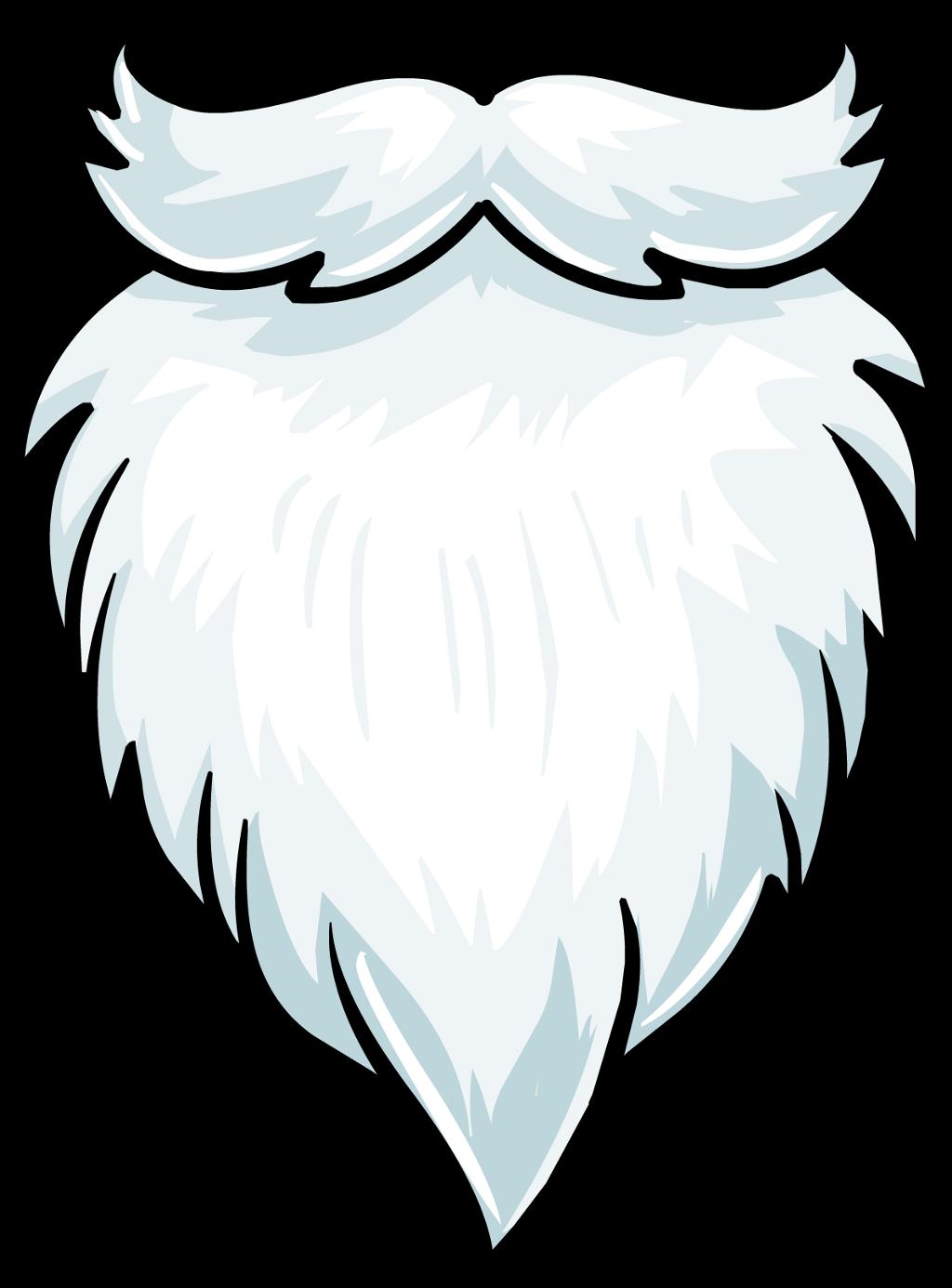 vector library stock Beard clipart picsart. Christmas santa santaclaus santabeard