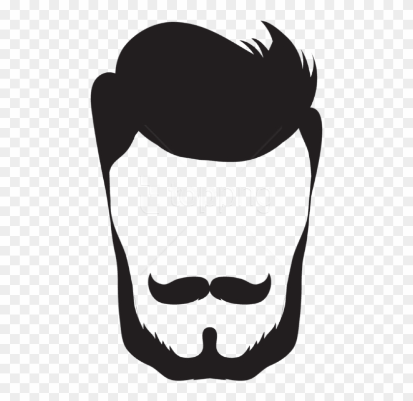 clip art royalty free download Free download hipster hair. Beard clipart picsart.