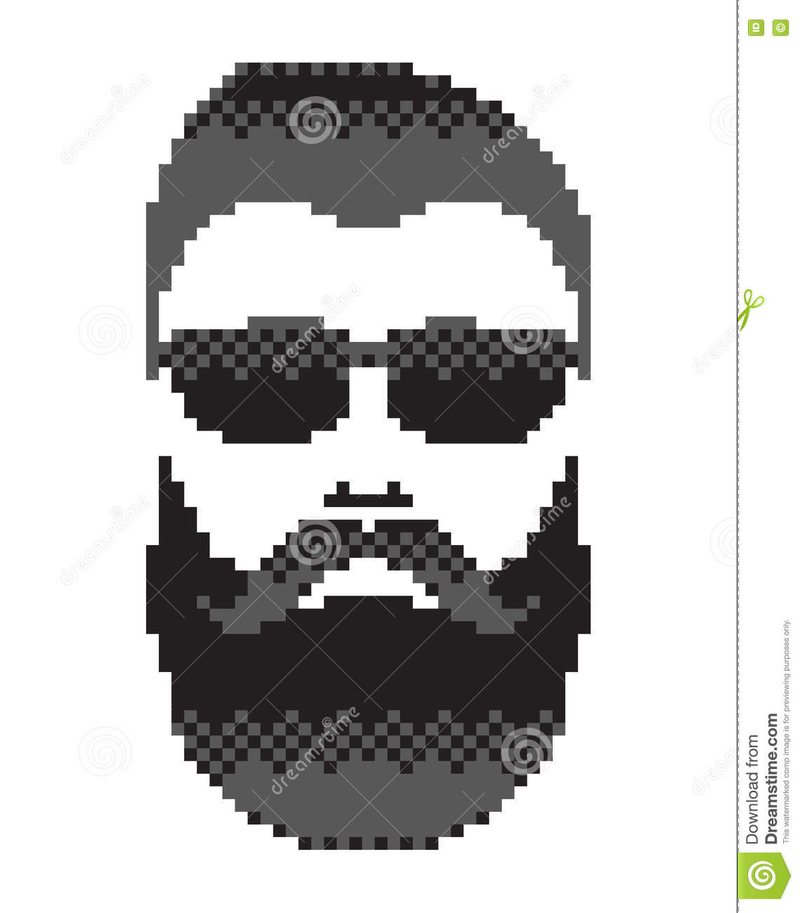 graphic free library Beard clipart pixel. Images gallery for free