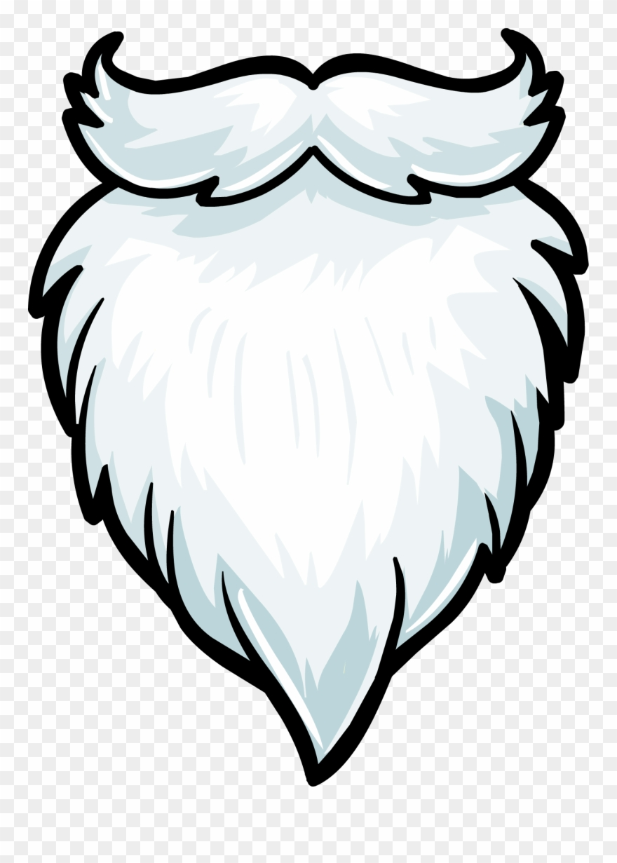 clip royalty free Santa png download . Beard clipart plain