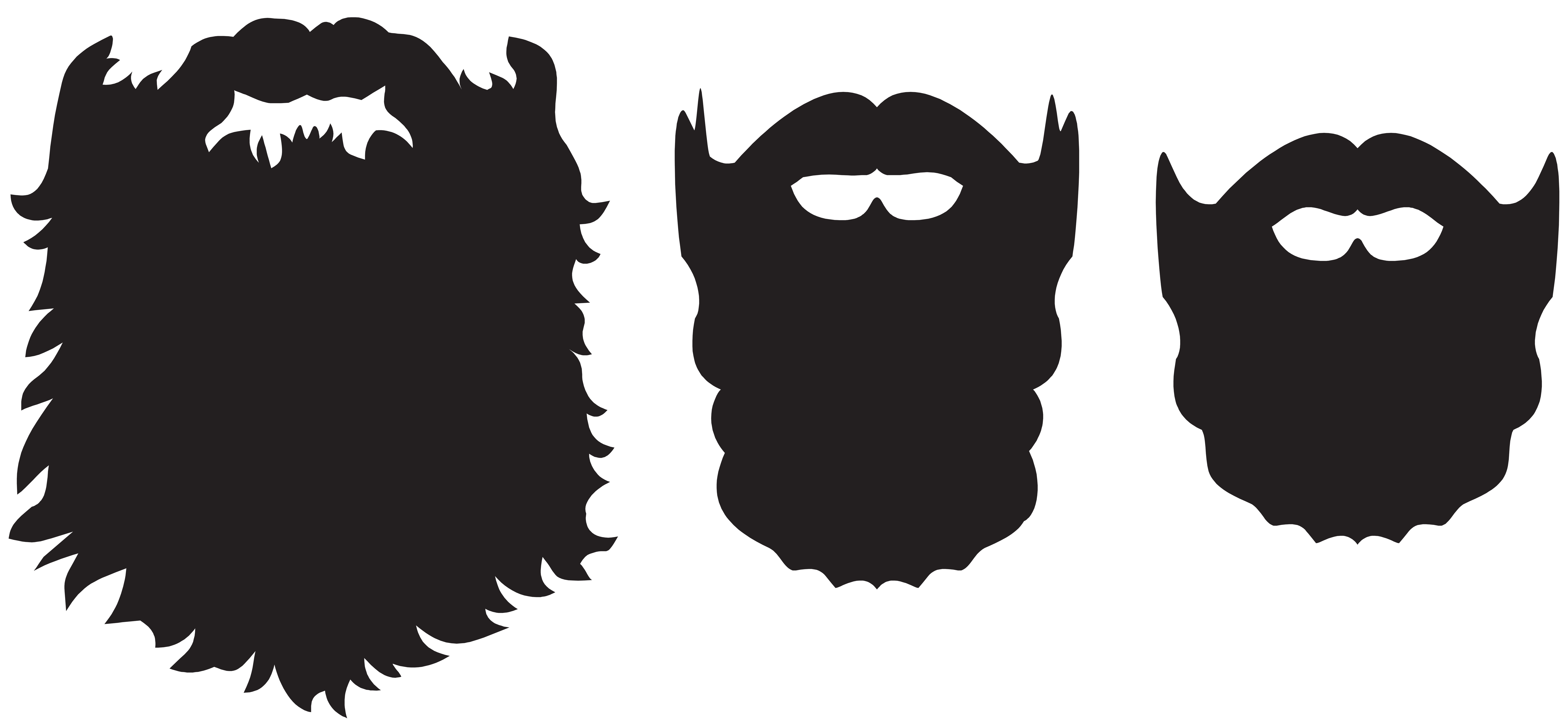 clipart free Beard clipart png. Set clip art image