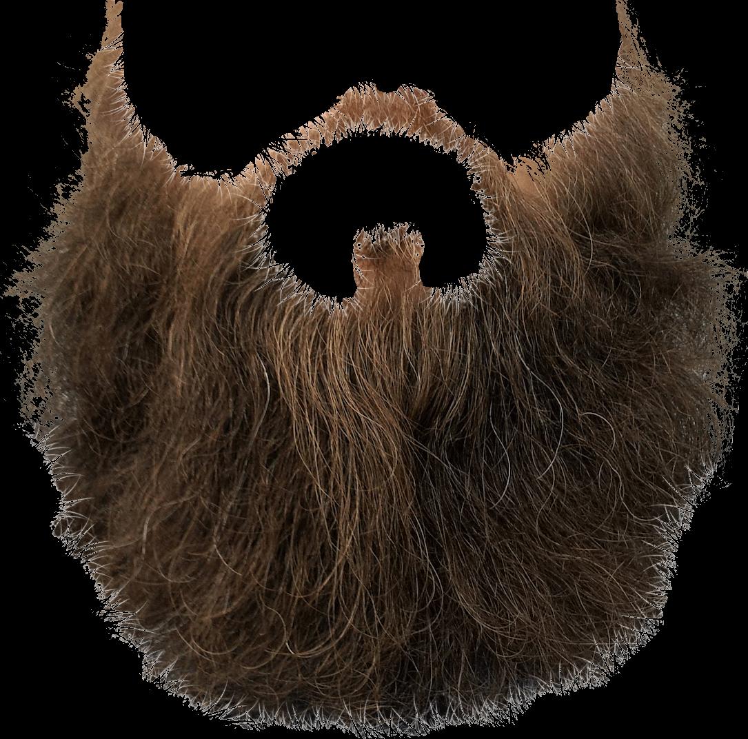 transparent download Mustache brown transparent stickpng. Beard clipart png.