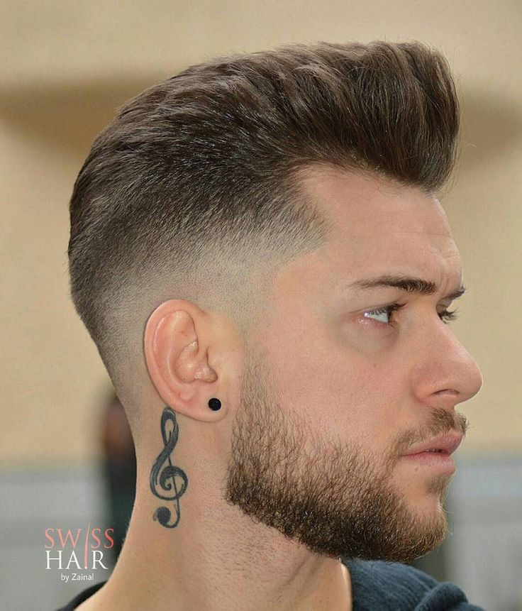 png Images gallery for free. Beard clipart pompadour haircut