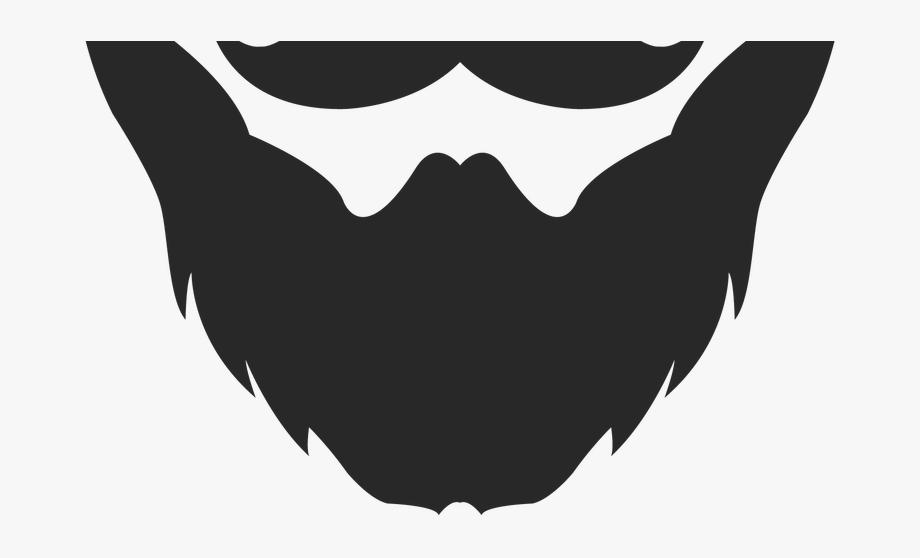 banner black and white stock Beard clipart profile. Clip art bigote y