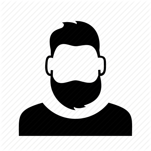 picture royalty free download Beard clipart profile. Characters by anton drukarov