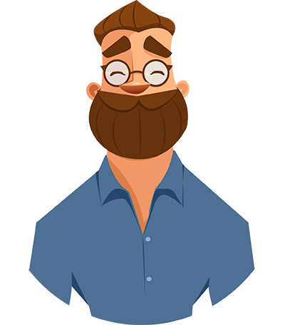 banner transparent stock Beard Clipart jpeg