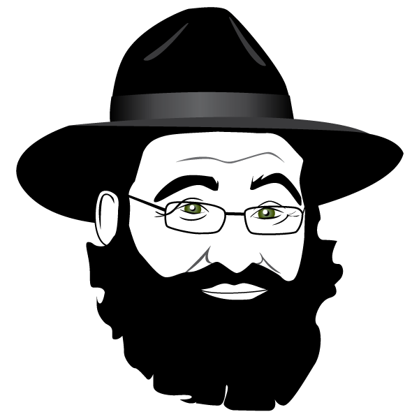 picture royalty free library Beard clipart rabbi. Illustration frank s designs.