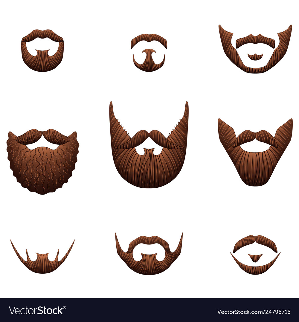 image Download for free png. Beard clipart realistic