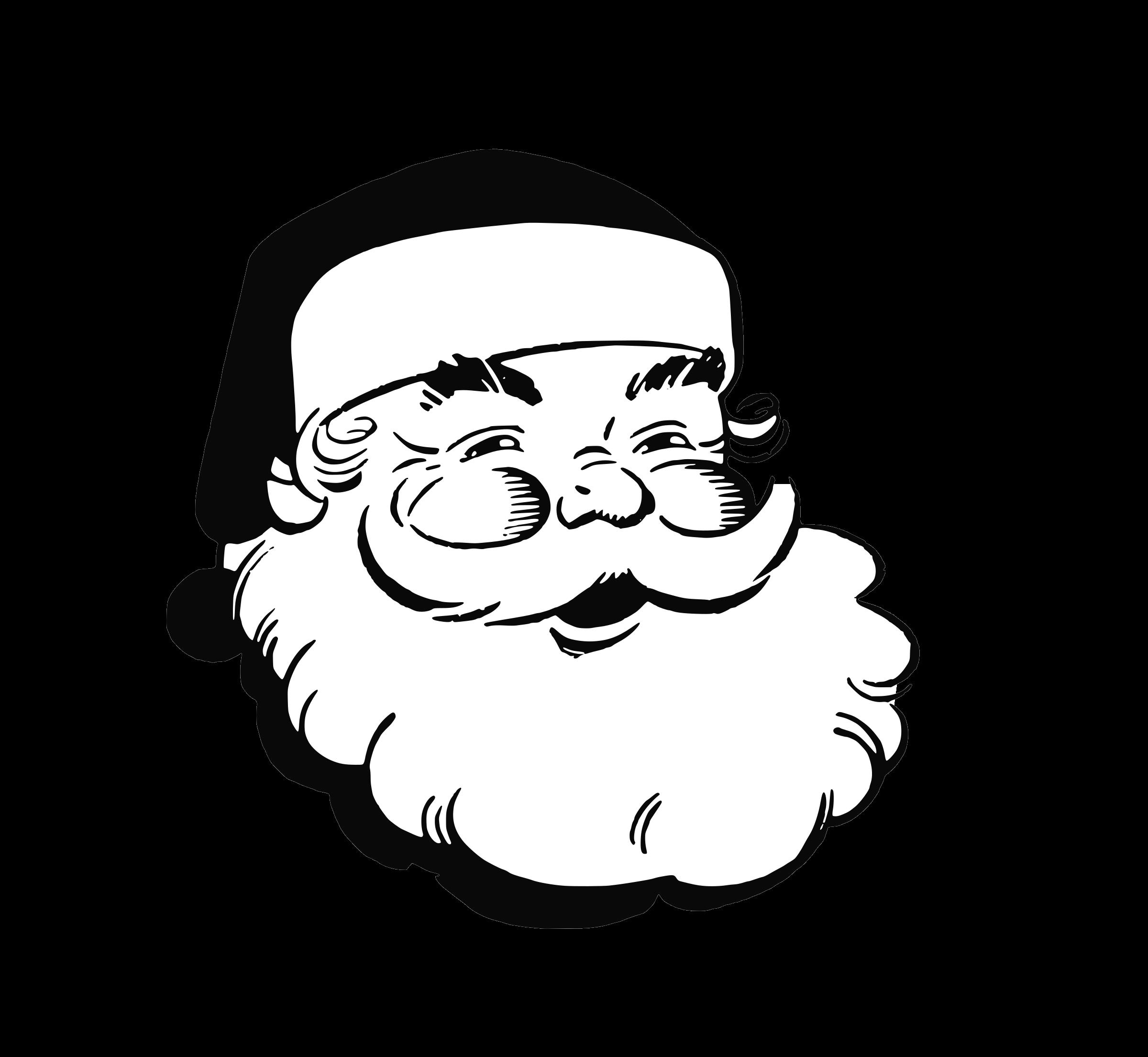 clip art freeuse library Big image png. Beard clipart santa claus
