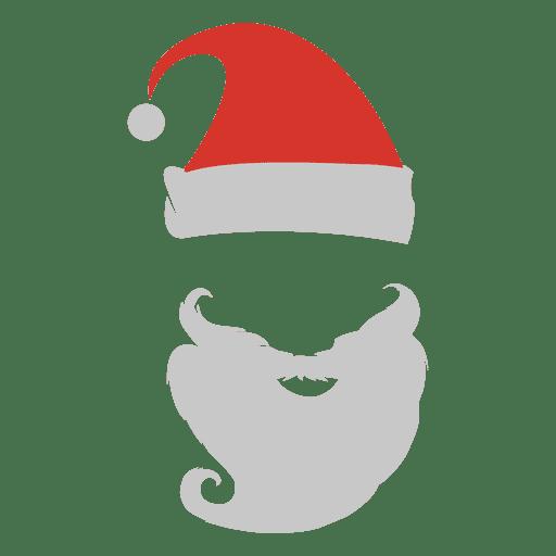 svg Beard clipart santa claus. Clip art png download