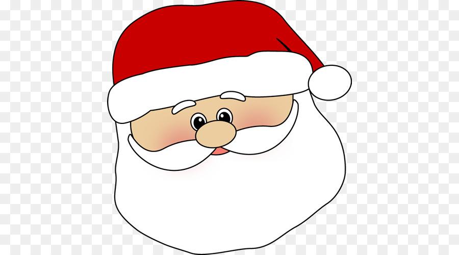 vector transparent stock Mrs face clip art. Beard clipart santa claus