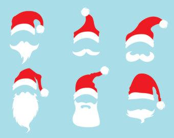 transparent download Free cliparts download clip. Beard clipart santa hat