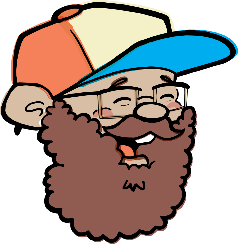 clipart transparent library Beard clipart shades. Trudust com if youve.
