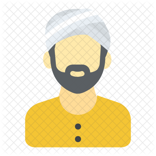 graphic library stock Beard clipart sikh. Icon avatar smileys icons