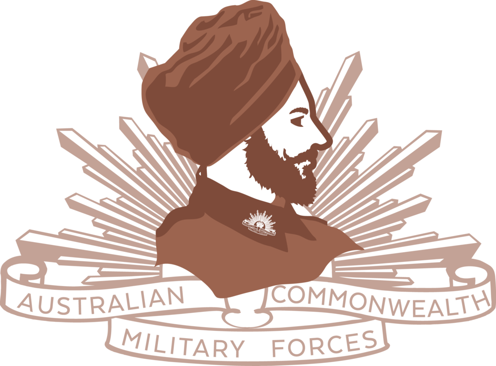 picture library download Australian heritage trail ww. Beard clipart sikh