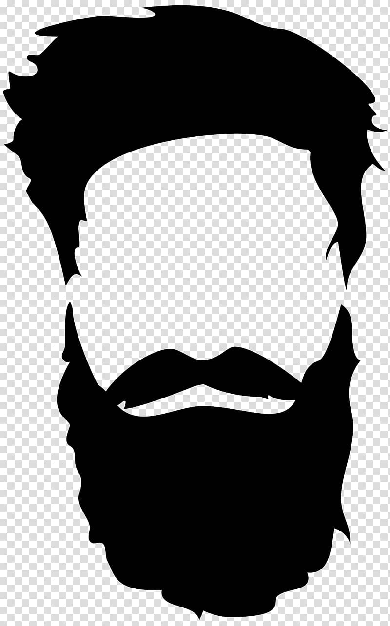 png freeuse stock And moustache transparent . Beard clipart silhouette