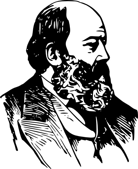 clip art stock Beard clipart sketch. Bald man with a