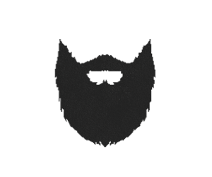 black and white Beard clipart sketch. Beards k ultra wide