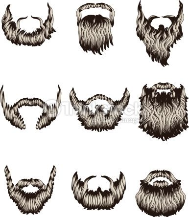 svg freeuse stock Beard clipart sketch. Transparent free for
