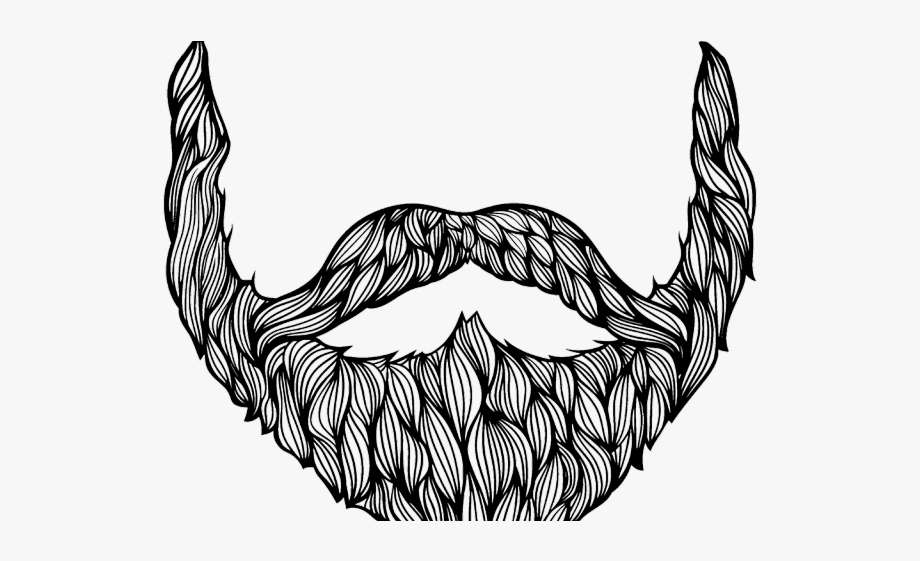 picture freeuse library Drawn drawing free cliparts. Beard clipart sketch