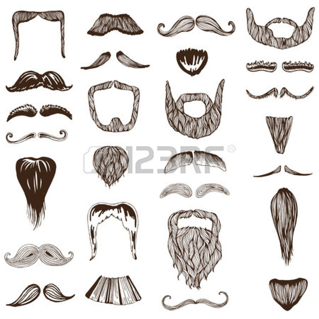 svg black and white download Funny drawing google search. Beard clipart sketch