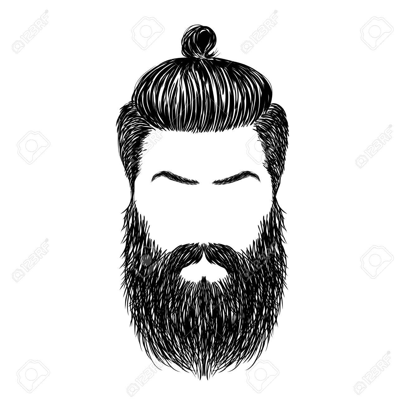 freeuse At paintingvalley com explore. Beard clipart sketch